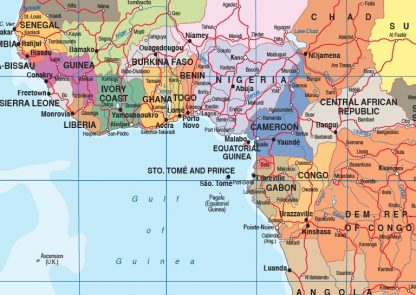 English world map zoom